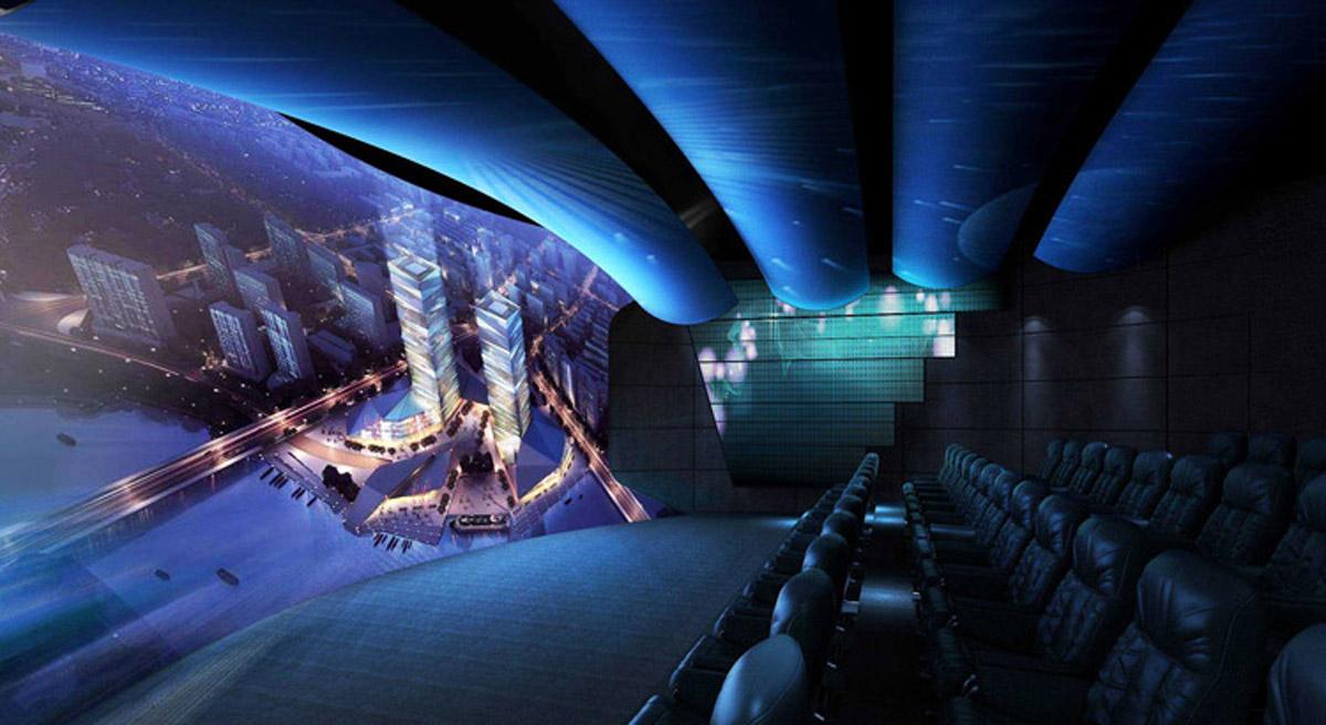 乡城模拟安全动感4D影院